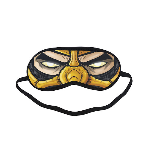 SPM469 Mortal Kombat Scorpion Eye Printed Sleeping Mask