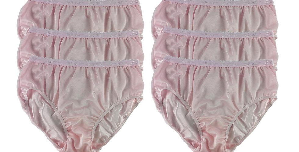 CKS Fair PINK Lots 6 pcs Wholesale New Nylon Panties Women