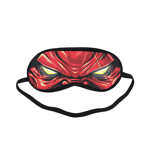 SPM090 Hell villain Eye Printed Sleeping Mask