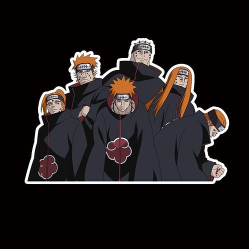 NOR165 Pain Naruto Peeking anime sticker Car Decal Vinyl Window