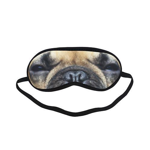 SPM227 Pug Dog Eye Printed Sleeping Mask