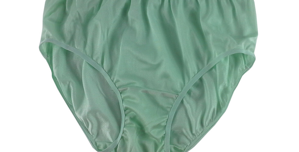 CK04 Green Silky New Nylon Panties Women Knickers Briefs Underwear