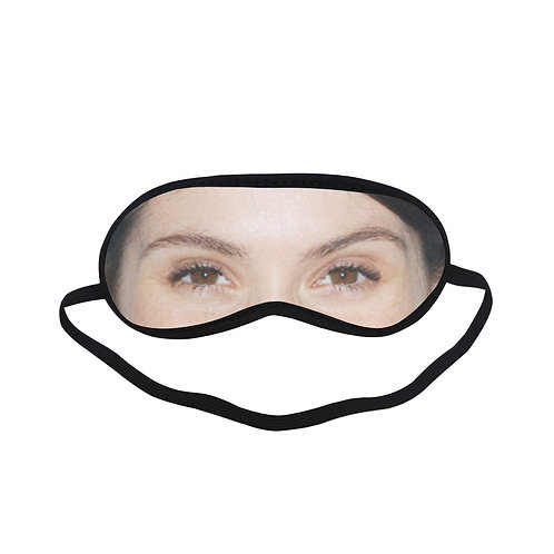 ITEM351 gemma arterton  Eye Printed Sleeping Mask