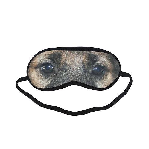 SPM009 German Shepherd dog Eye Printed Sleeping Mask