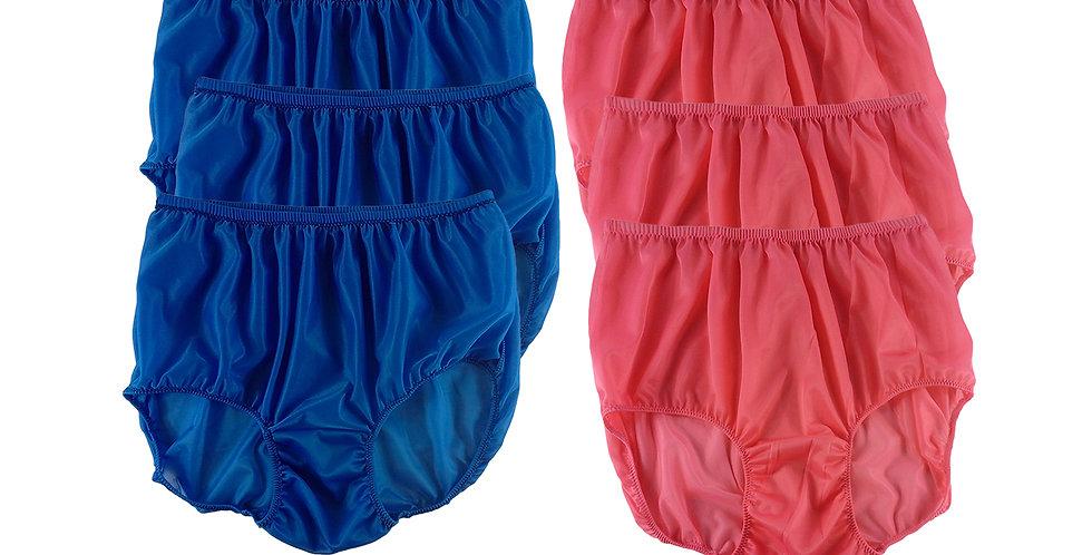 NSD103Lots 6 pcs Wholesale Women New Panties Granny Briefs Nylon Lingerie