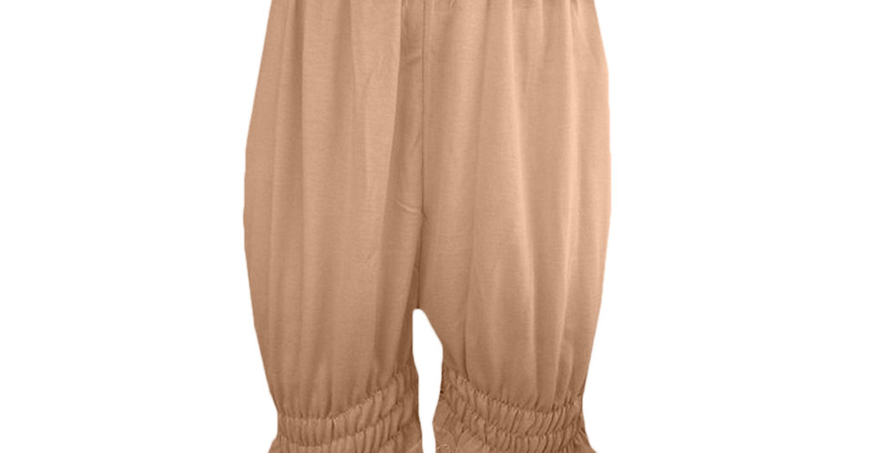 PCPH03U brown Cotton Pettipants Women Slips Lace Lingerie Underwear