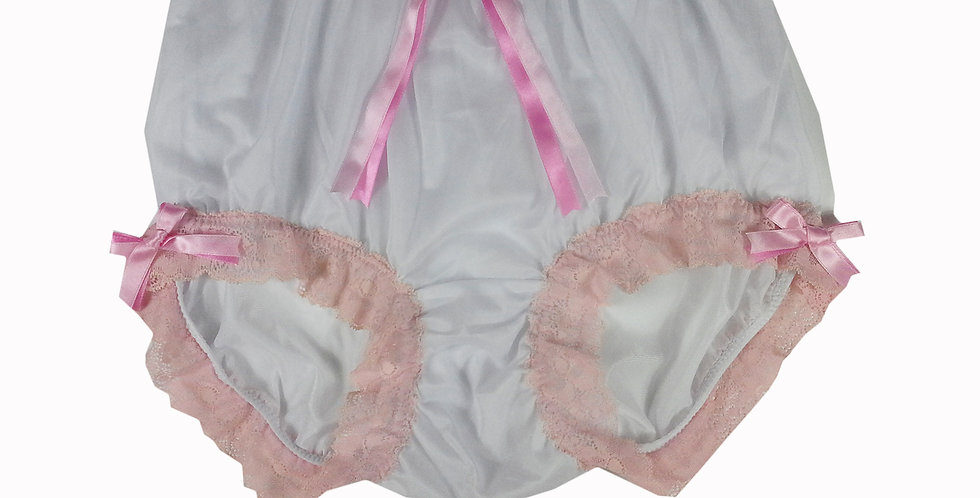 NNH11D38 Handmade Panties Lace Women Men Briefs Nylon Knickers