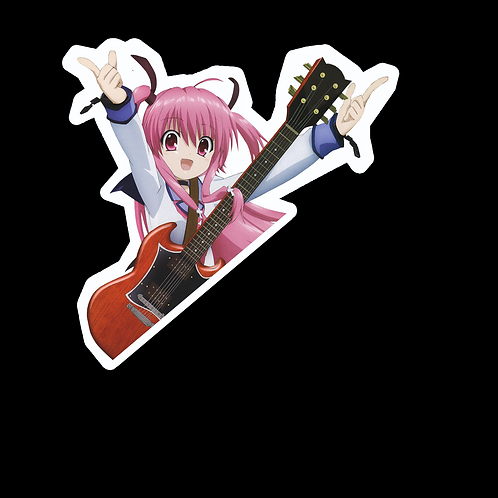 Peek Anime Sticker Car Bumper Truck Window Laptop Peeking Decal AGB8 Angel Beats