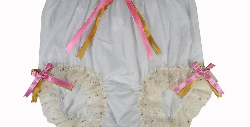 NNH11D49 Handmade Panties Lace Women Men Briefs Nylon Knickers