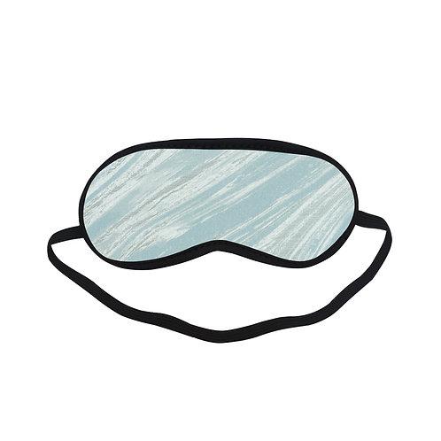 PTEM426 Blue Colorful Trippy Eye Printed Sleeping Mas