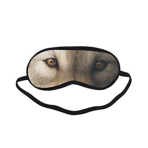 SPM565 wolf face animal Eye Printed Sleeping Mask
