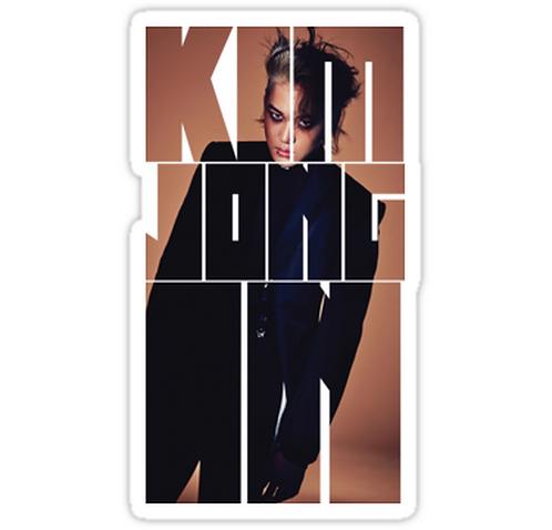 EXO Kai 'Monster' Typography SSTK083 K-Pop Music Brand Car Window Decal Sticker