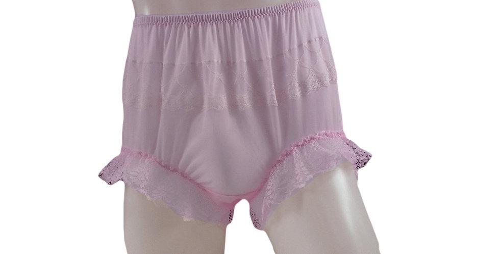 JYH04D07 Handmade Nylon Panties Women Men Lace Knickers Briefs