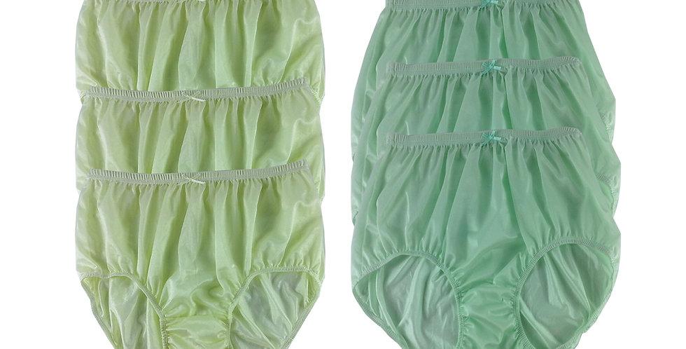 NQSC08 Lot 6 pcs Wholesale New Panties Granny Briefs Nylon Men Women