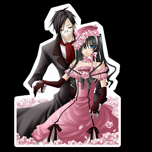 Anime Stickers Die-cut Car motorcycle laptops phone Truck wall BB11 Black Butler