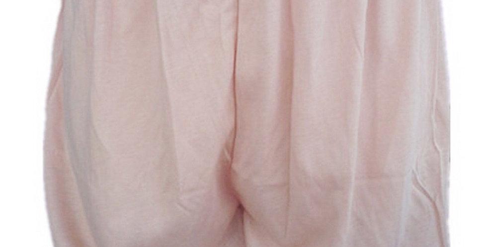 PCPHF1 brown Cotton Pettipants Women Slips Lace Lingerie Underwear