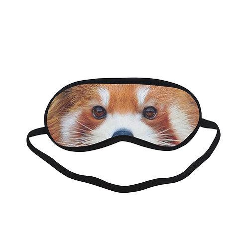 BTEM386 Red Panda Eye Printed Sleeping Mask