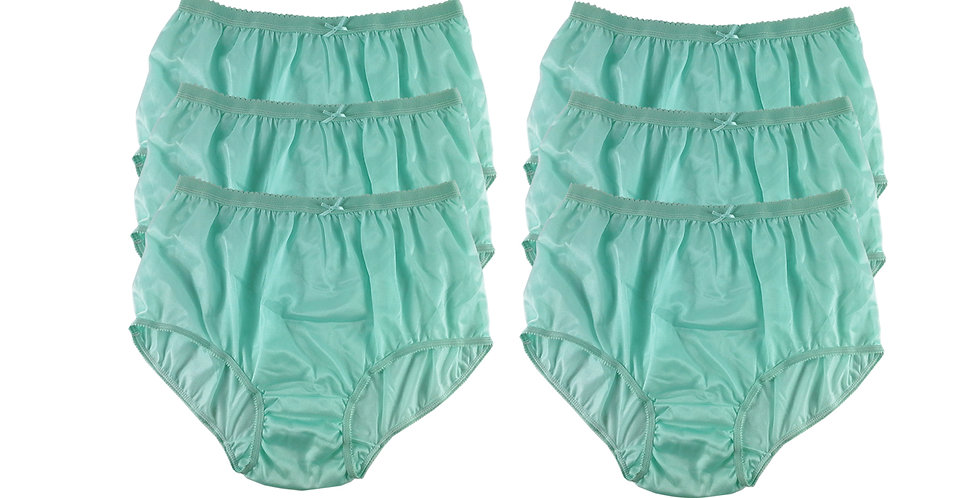 NYS green Lots 6 pcs New Panties Wholesale Briefs Silky Nylon Men Women