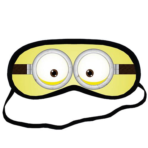EYMt1684 Minion cartoon Eye Printed Sleeping Mask
