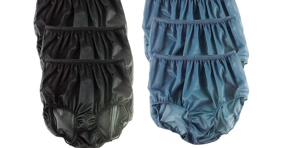 NSD16Lots 6 pcs Wholesale Women New Panties Granny Briefs Nylon Lingerie