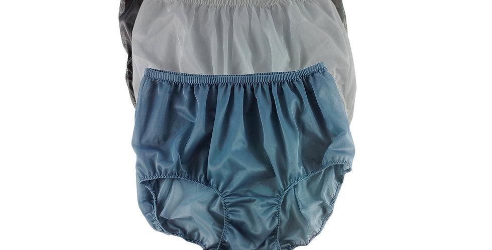 A47 Lots 3 pcs Wholesale Women New Panties Granny Briefs Nylon Knickers