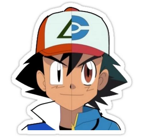 ash pokemon SPKMR091 Cartoon Anime Car Window Decal Sticker