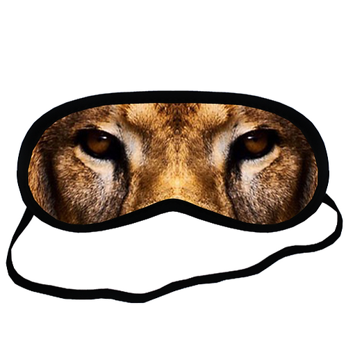 EYM408 Lion Eye Printed Sleeping Mask