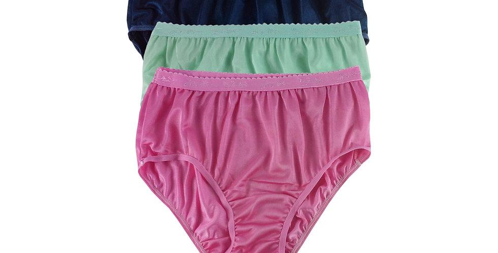 CKTK05 Lots 3 pcs Wholesale New Nylon Panties Women Undies Briefs
