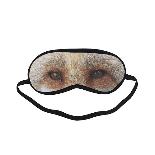 SPM224 Brown Bear Eye Printed Sleeping Mask