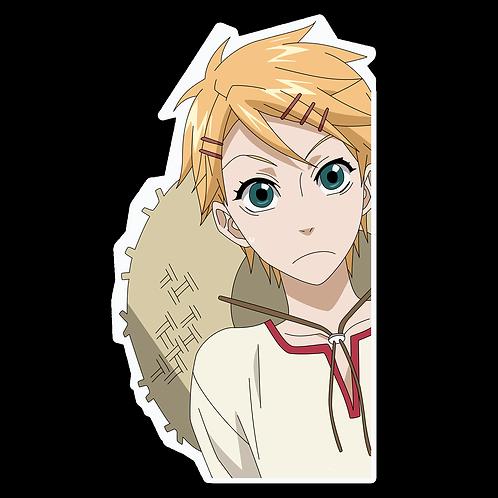 Anime Peeking Sticker Car Window Decal PK264 kuroshitsuji finnian