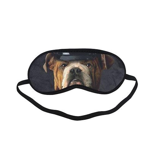 ATEM130 bulldog marine Eye Printed Sleeping Mask