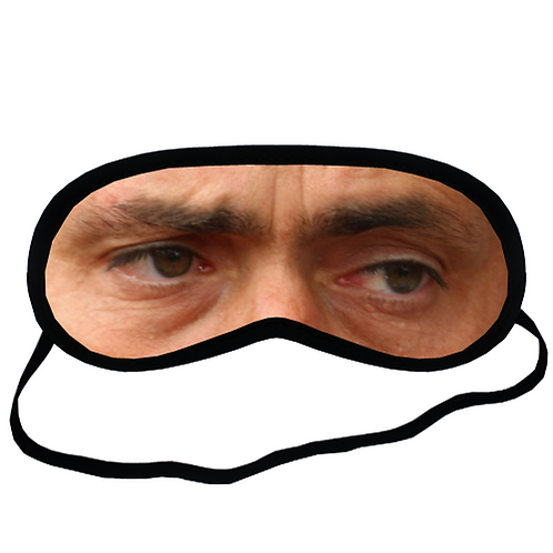 EYM1450 Jose Mourinho Eye Printed Sleeping Mask