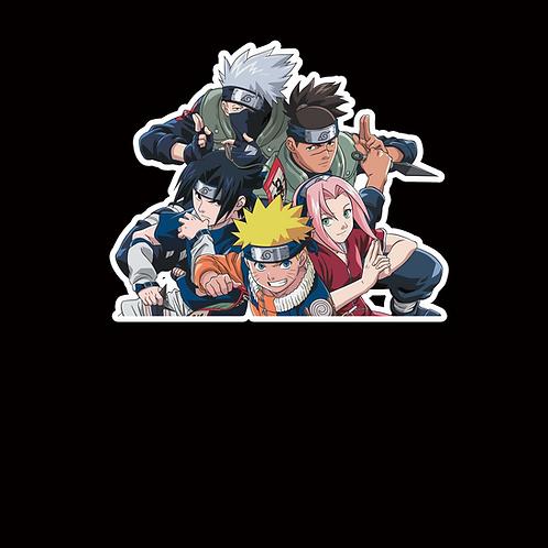 NOR295 Kakashi Sasuke Sakura Naruto Peeking anime sticker Car Decal Vinyl Window