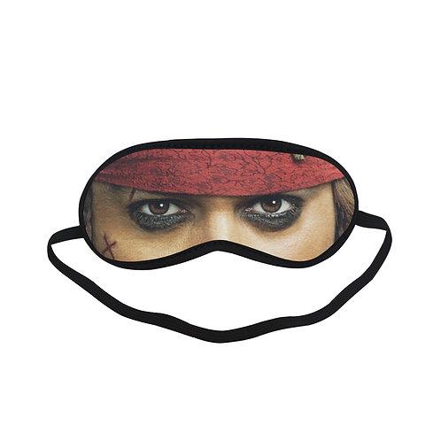 JTEM395 jack sparrow Eye Printed Sleeping Mask