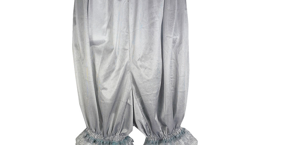 PTPH01D08 New gray grey New Nylon Pettipants Women Men Slips Lace Lingerie