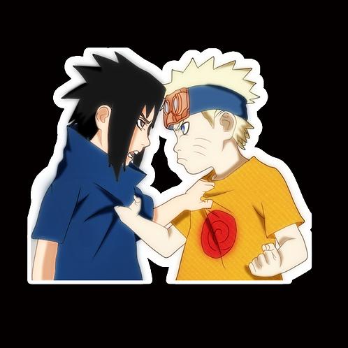 NOR262 Sasuke Naruto Peeking anime sticker Car Decal Vinyl Window
