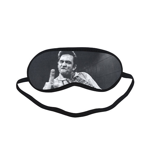 EPSC187 Johnny Cash Eye Printed Sleeping Mask