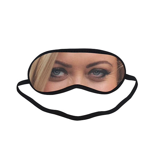 EOL124 Gemma Collins Eye Printed Sleeping Mask