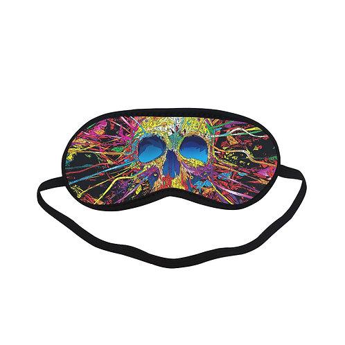 PTEM169 Skull Graffiti Street Style Eye Printed Sleeping Mask