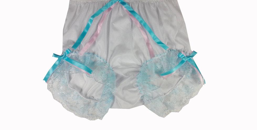 NNH11D76 Handmade Panties Lace Women Men Briefs Nylon Knickers
