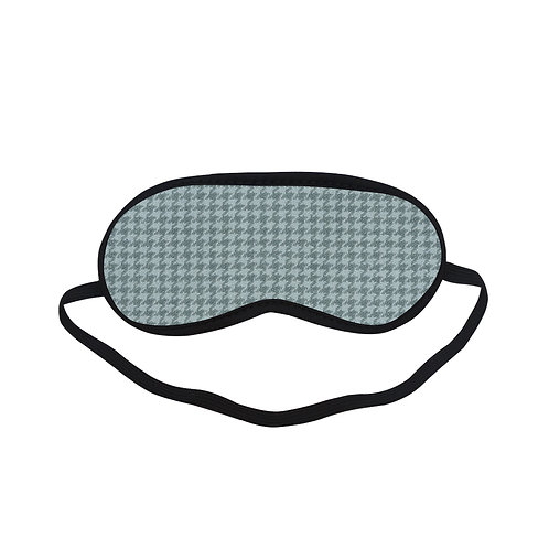 PTEM452 Navy checker tartan pattern Eye Printed Sleeping Mas