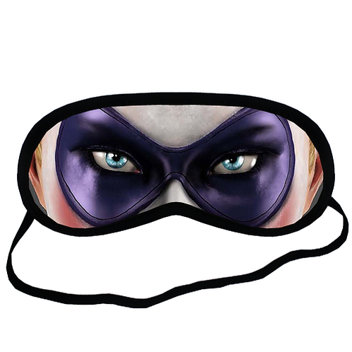 EYM321 Harley Quinn Eye Printed Sleeping Mask