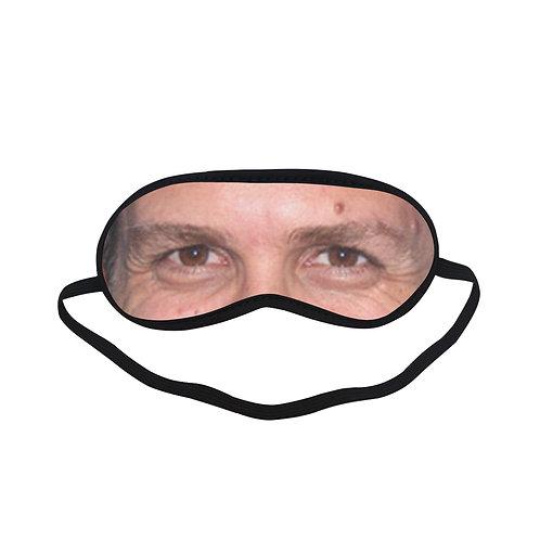 EOL122 Gabriel Macht Eye Printed Sleeping Mask