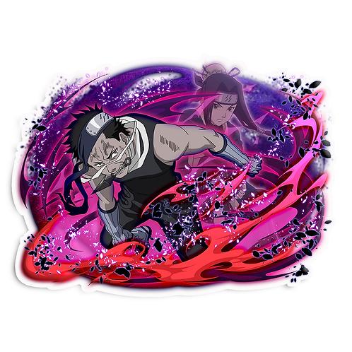 NRT565 Zabuza  Seven Ninja Swordsmen of the Mist Naruto anime sticker Ca