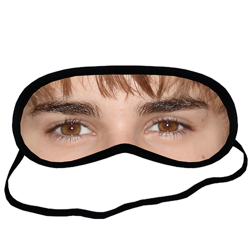 EYM359-363 Justin Bieber Eye Printed Sleeping Mask