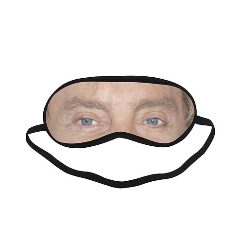 EOL036 Barry Manilow Eye Printed Sleeping Mask
