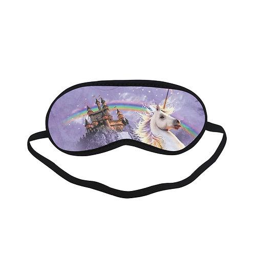 ATEM433 unicorn castle Eye Printed Sleeping Mask