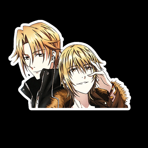 Anime Peeking Sticker Car Decal AB18  k project totsuka tatara kusanagi izumo