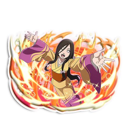 NRT84 Hanabi Hyuga Konohagakure Naruto anime sti