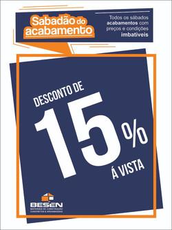 desconto de 15%